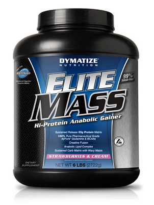 Elite Mass Gainer (Dymatize Nutrition), 2727 гр