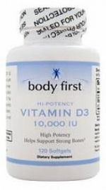 Vitamin D3 10000IU (Body First)