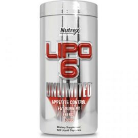 Lipo 6 Unlimited caps (Nutrex)