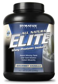 All Natural Elite Whey Protein (Dymatize Nutrition)