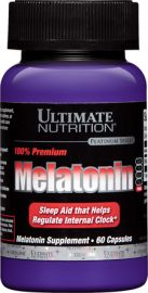 Melatonin 100% Premium (Ultimate Nutrition)