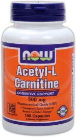 Acetyl-L Carnitine 500 mg (NOW)
