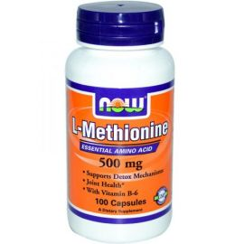L-Methionine 500 mg (NOW)