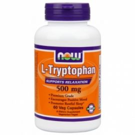 L-Tryptophan 500 mg (NOW)