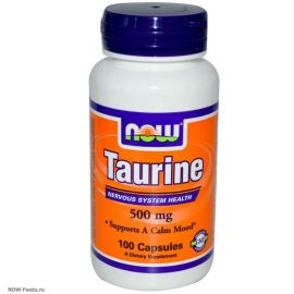 Taurine 500 mg (NOW)