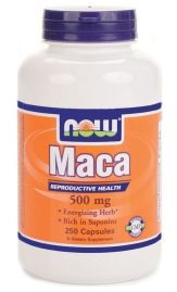 Maca 500 mg (NOW)