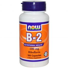 B-2 Riboflavin 100 mg (NOW)