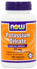 Potassium Citrate 99 mg (NOW)