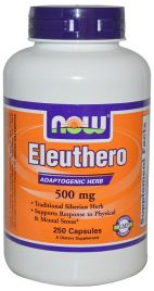 Eleuthero 500 mg (NOW)