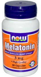 Melatonin 3 mg (NOW)