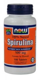 Spirulina 500 mg (NOW)