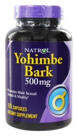 Yohimbe Bark 500 mg (Natrol)