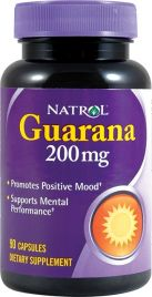 Guarana 200 mg (Natrol)