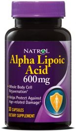 Alpha Lipoic Acid 600 mg (Natrol)