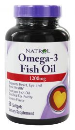 Omega-3 Fish Oil 1200 mg (Natrol)