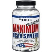 Maximum BCAA Syntho (Weider), 240 капс