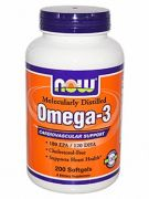 Omega-3 (NOW Foods), 500 капс
