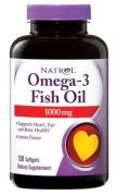 Omega-3 Fish Oil 1000 mg (Natrol), 60 капс.