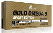 Gold Omega 3 Sport Edition (Olimp), 120 капс.