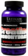 Creatine Monohydrate (Ultimate Nutrition), 200 капс