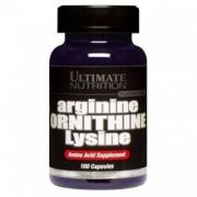 Arginine Ornithine Lysine (Ultimate Nutrition), 100 капс