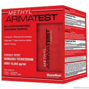 Methyl Arimatest (MuscleMeds), 180 капс
