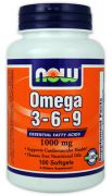 Omega 3-6-9 1000 мг (NOW), 250 капс
