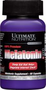 Melatonin 100% Premium (Ultimate Nutrition), 60 капс.