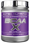BCAA X (Scitec Nutrition), 120 капс.