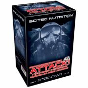 Attack! 2.0 (Scitec Nutrition), 25 пак по 10 г