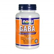 Gaba 750 mg (NOW), 100 капс