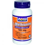 L-Methionine 500 mg (NOW), 100 капс