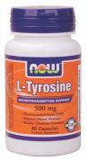 L-Tyrosine 500 mg (NOW), 60 капс.