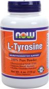L-Tyrosine 100% Pure Powder (NOW), 113 гр