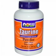 Taurine 100% Pure Powder (NOW), 227 г