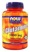 L-Glutamine 1000 mg (NOW), 240 капс