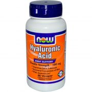 Hyaluronic Acid 100 mg (NOW), 60 капс.