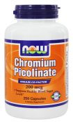 Chromium Picolinate 200 mcg (NOW), 100 капс