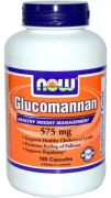 Glucomannan 575 mg (NOW), 180 капс