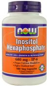 Inositol Hexaphosphate 600 mg (NOW), 100 капс
