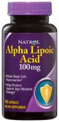 Alpha Lipoic Acid 100 mg (Natrol), 100 капс