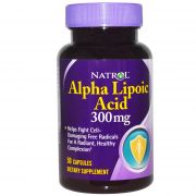 Alpha Lipoic Acid 300 mg (Natrol), 50 капс