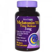 Melatonin TR Time Release 3 mg (Natrol), 100 таб