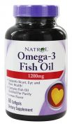 Omega-3 Fish Oil 1200 mg (Natrol), 60 капс.